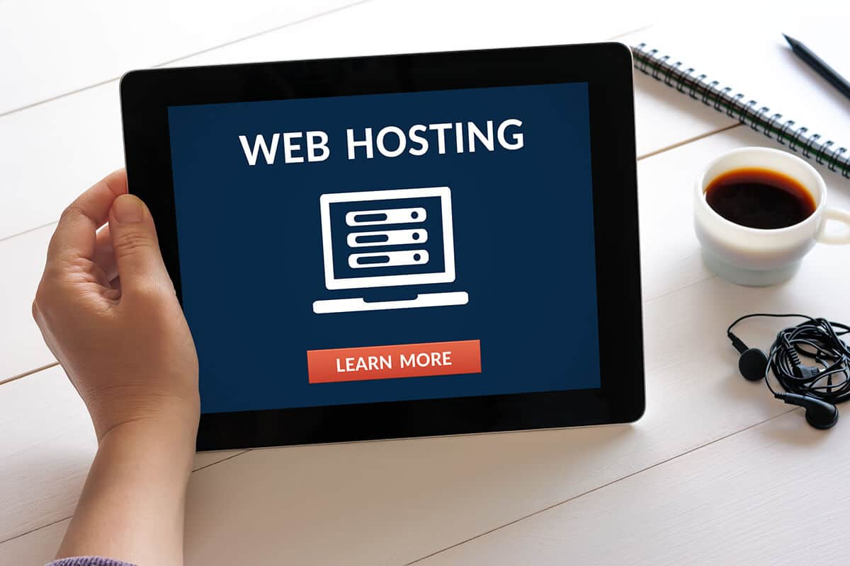Web Hosting and Domain Names are services offered by DEZIGN-IT
